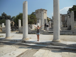 Roman Agora Columns