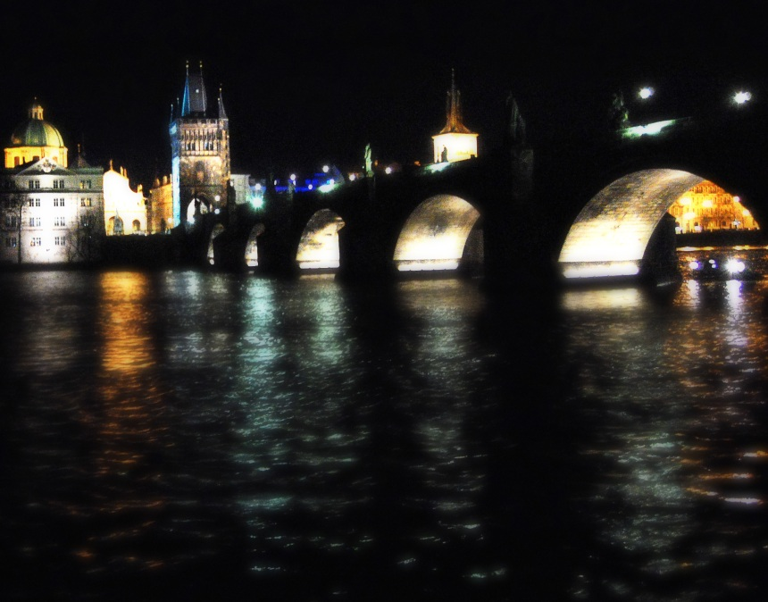 View of the Charles Bridge