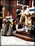 Henry VIII and Katherine Parr