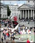 Olympic Countdown at Trafalgar