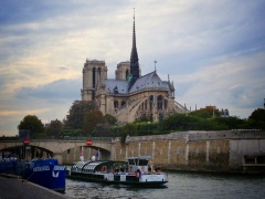 An angle of the Notre Dame not seen often enough
