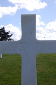 Ernest Lavoie: American Cemetary of France