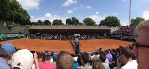 The French Open, or Roland Garros as it's called here